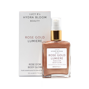 Rose Gold Body Glow | Lucy B