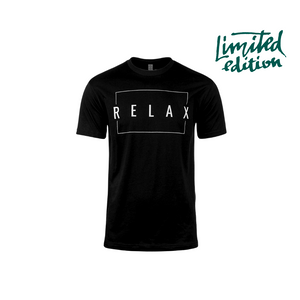 Limited Edition Promotion - Relax crew neck tee - unisex style | Live Love Spa