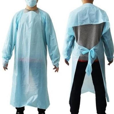 Disposable Isolation Gown Level 2 - 10 Pack - DoveCart.com