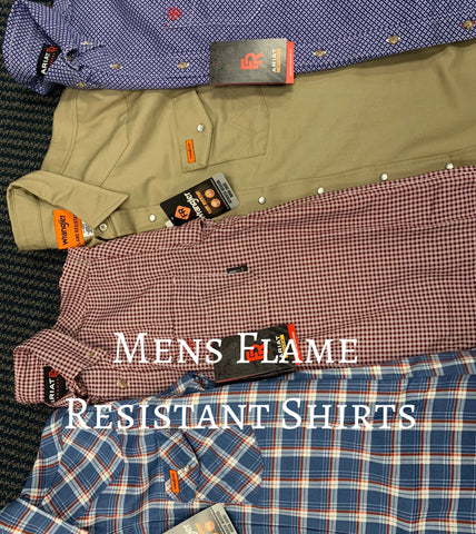 Mens Flame Resistant Shirts