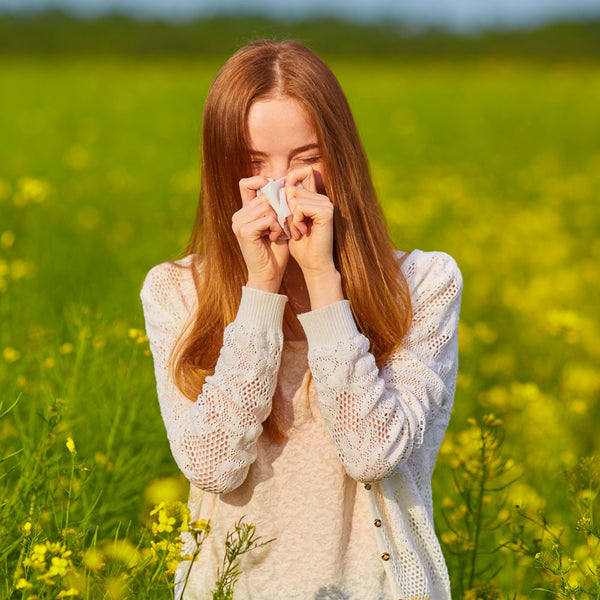 Dealing with Summer Hayfever and Soothing Irritated Skin