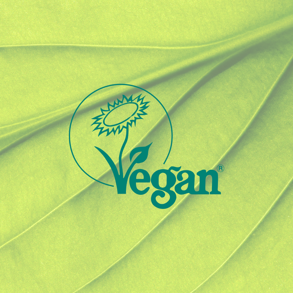 We're now registered with The Vegan Society