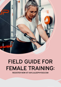 FREE Field Guide to Female Training!