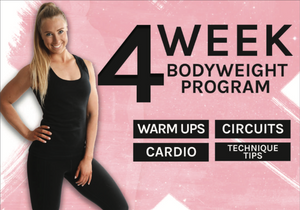 4 Week Home Program