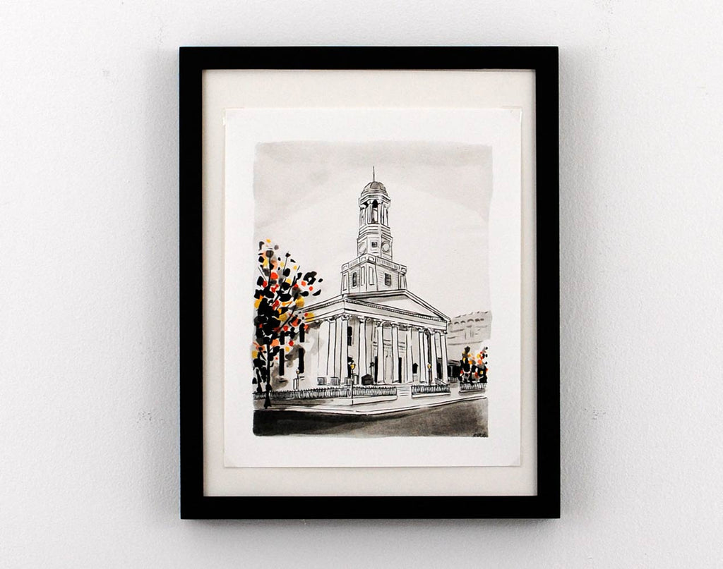 New Print Tuesday: St. Paul's Church, Richmond, Virginia