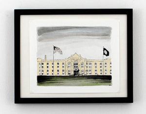 New Print Tuesday: The Barracks VMI