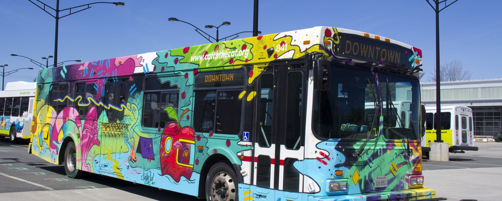 Charlottesville, VA is getting an Art Bus (for a limited time)