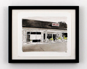 New Print Tuesday: Galley Kitchen, Stratford Hills, Richmond VA