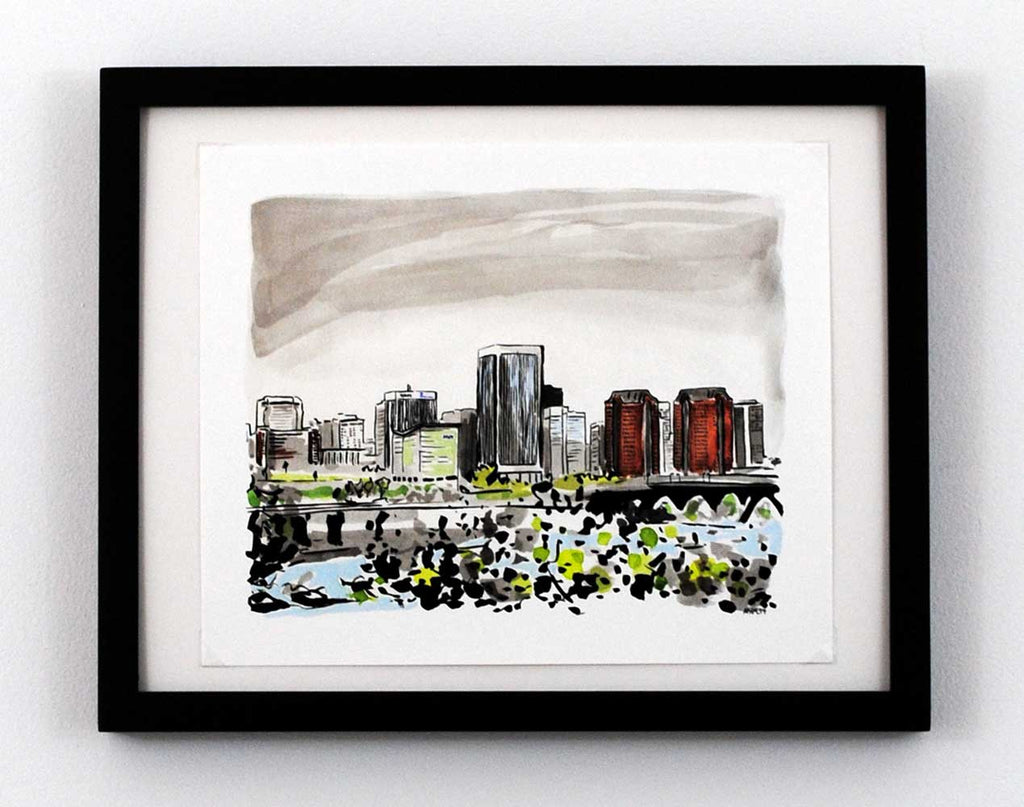 New Print Tuesday: Richmond, Va Skyline