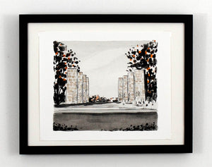 New Print Tuesday: War Memorial - Virginia Tech, Blacksburg Va
