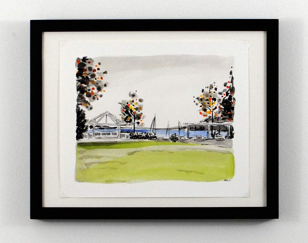 New Print Tuesday: The Boathouse at Sunday Park