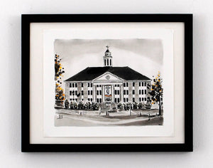 New Print Tuesday: Wilson Hall, JMU