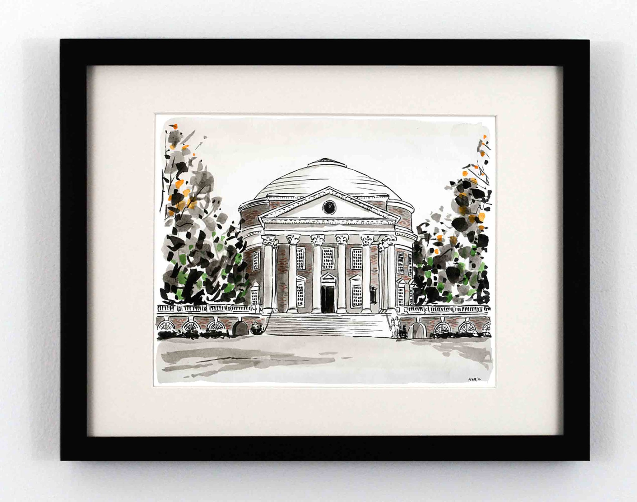 The Rotunda from the Lawn, University of Virginia