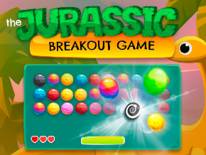 The Jurassic Breakout Game