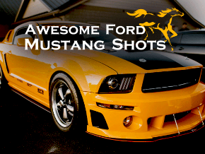 Awesome Ford Mustang Shots