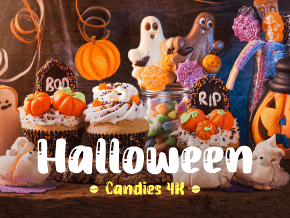Halloween Candies 4K