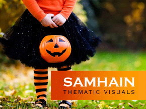 Samhain Thematic Visuals