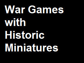 War Games with Miniatures