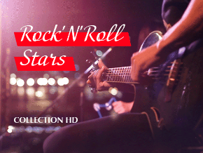 Rock n roll Stars Collection H
