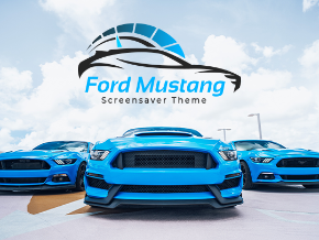 Ford Mustang Screensaver Theme