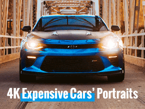 4K Expensive Cars Portraits