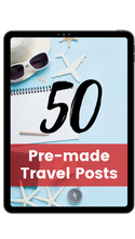 Load image into Gallery viewer, 50 Personalized Travel Inspiration Posts