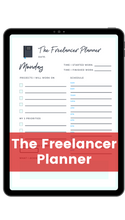 Load image into Gallery viewer, The Freelancer Planner
