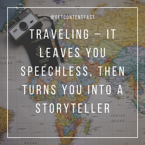 50 Personalized Travel Inspiration Posts