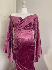 Primusy Velvet Dress - Design by C