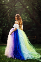 Load image into Gallery viewer, Raile  Rainbow Dress - Design by C