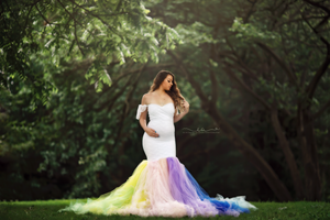 Robine Rainbow Dress - Design by C