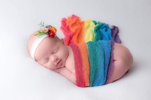 Rainbow Newborn - Design by C