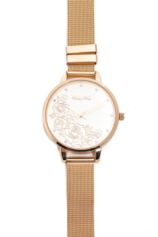 Rosy Gold Watch