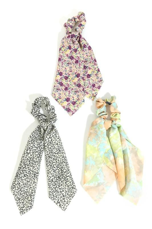 Scrunchie Scarf Set