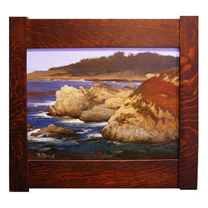 Framed Painting of Point Lobos by Brian Blood
