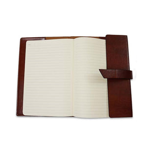 Leather journal with notepad from The Lodge at Torrey Pines
