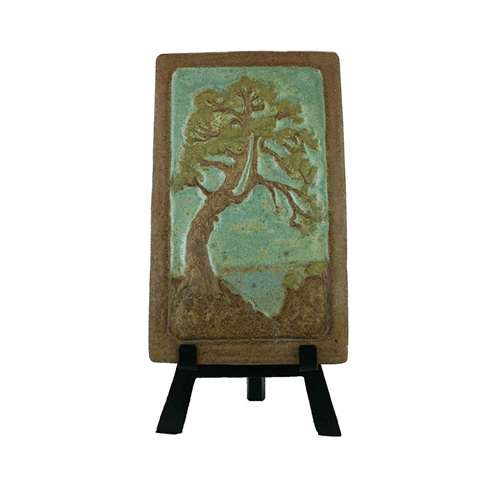 Clay Tile featuring the Torrey Pine by Laid Plumleigh
