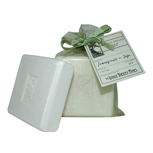 Lemongrass and Sage French-Milled Soap 5oz