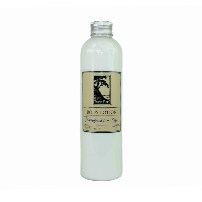 Lemongrass and Sage Lotion from the Lodge at Torrey Pines