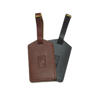 Luggage tags with The Lodge at Torrey Pines logo