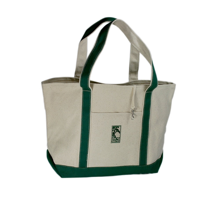 Weather Resistant Cotton Canvas Tote  with The Lodge at Torrey Pines logo