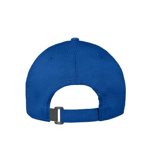 Back view of men's Under Armour Zone adjustable hat in royal blue from The Lodge at Torrey Pines
