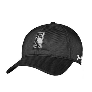 Men's Under Armour Zone adjustable hat in black from The Lodge at Torrey Pines