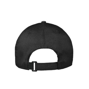 Back view of men's Under Armour Zone adjustable hat in black from The Lodge at Torrey Pines