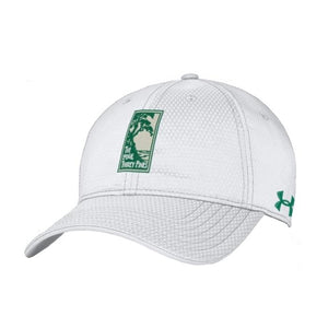 Men's Under Armour Zone adjustable hat in white from The Lodge at Torrey Pines