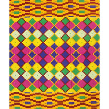 Load image into Gallery viewer, Kente print fabric