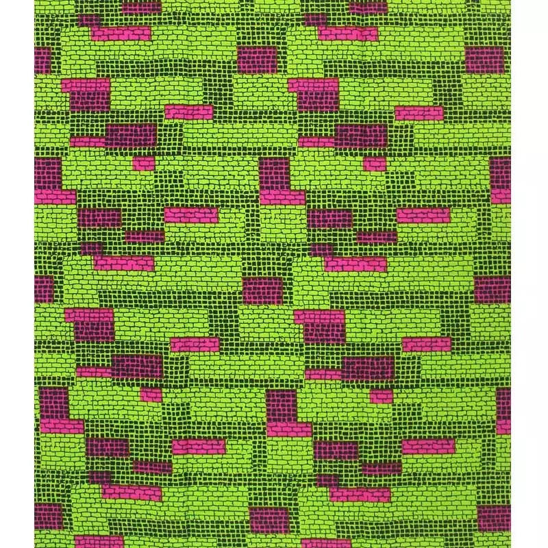 African Print fabric  6 yards
