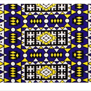 Ankara print fabric by the yard