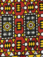 Load image into Gallery viewer, Ankara print fabric by the yard