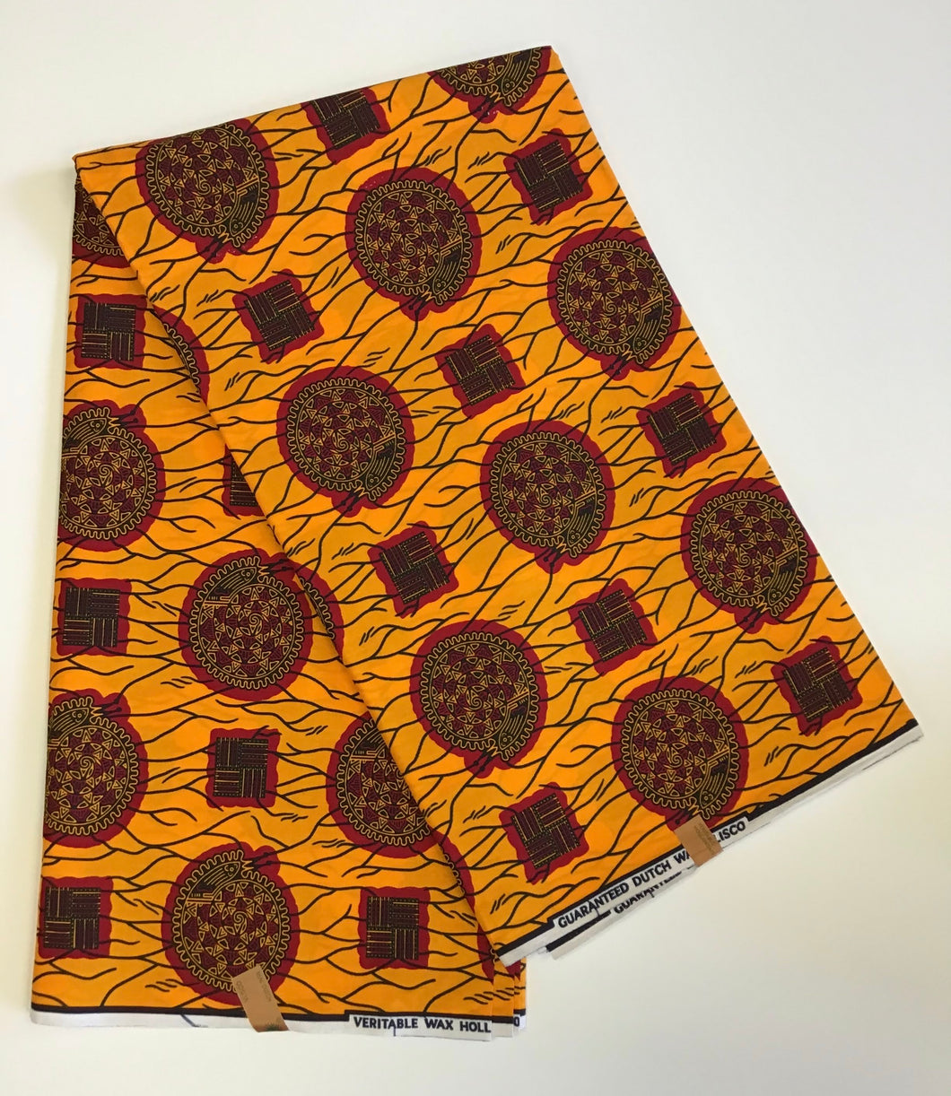 Ankara was print fabric
